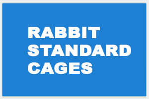 Rabbit Standard Cages